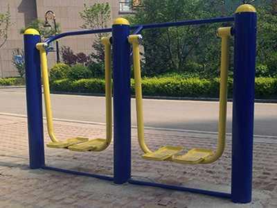 体育户外健身器材厂家之双人漫步机价格